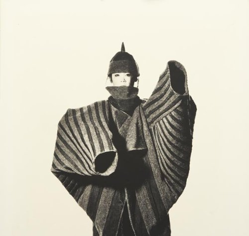 Image: Issey Miyake Christopher Forte: { Japan — An Ascetic Aesthetic }  There is a notion of modesty and subtlety, a respect for ceremony and procedure, an approach to duty and honor – that is unique to Japan. To the western eye these values are construed as anything from hopelessly anachronistic to downright obsessive – yet they contribute to a reverence for aesthetics that is utterly unique and exquisitely complex. This distinctive approach to all that appeals to the senses has, over centuries, imbued the Japanese with a veritable omnibus of terms that define everything from the simplest idea of placement (shibui: austerity of taste – not concealing the true nature of an object – a vase is a vase, a toaster is a toaster…) to the most esoteric concepts of shaping space (aji: where the incongruity of the object speaks of the congruity of the whole – the idea of sleeves filled with nothing, of space filled only with color…)