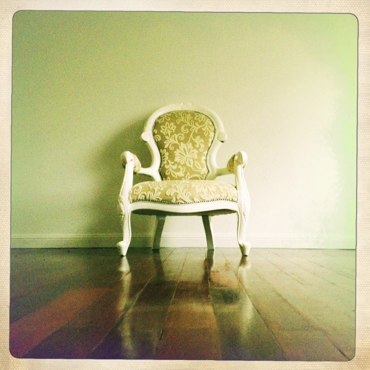 Take a seat Melodie Lens, Ina's 1969 Film, No Flash, Taken with Hipstamatic