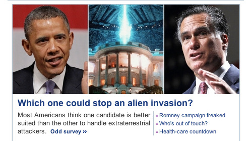Yahoo! News asks the tough questions.