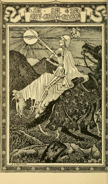geisterseher:  Sabine Baring-Gould. Old English Fairy Tales (1895). Illustrations by F.D. Bedford.