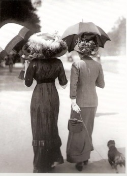 Au Bois, 1911 by Jacques Henri Lartigue