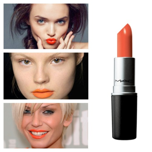 loveeee this red orange lipstick is really cuteeee for everything day or nite