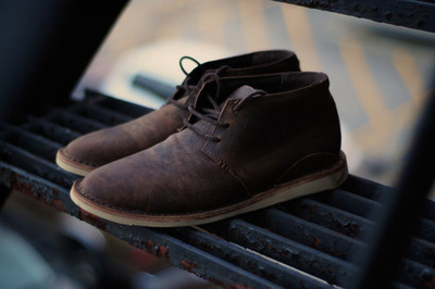 Oliberte Footwear - ADIBO Leather Chukkas | Anchor Division