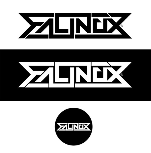 Recent logo I produced for friend Falinox, DnB artist under Lifted music.