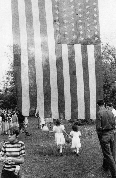 Happy 4th!  Photo by Robert Frank.