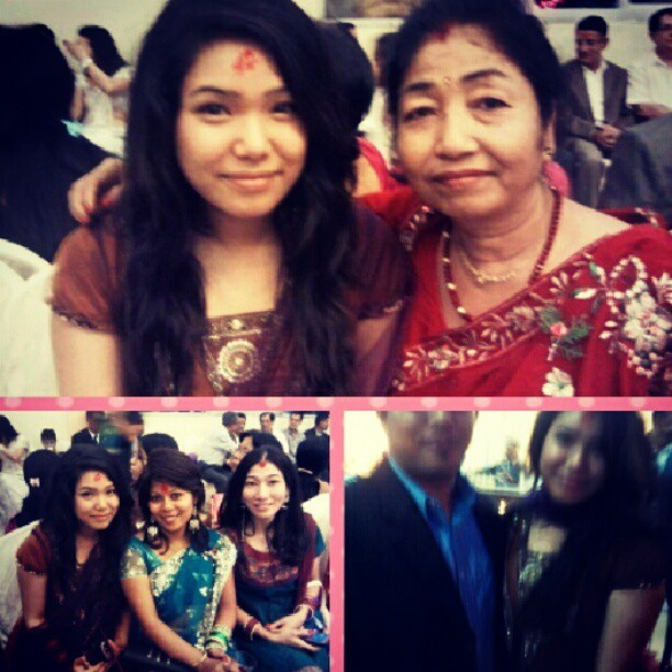Pics with cuzzies and ma fupu (aunt) <3 (Taken with Instagram)