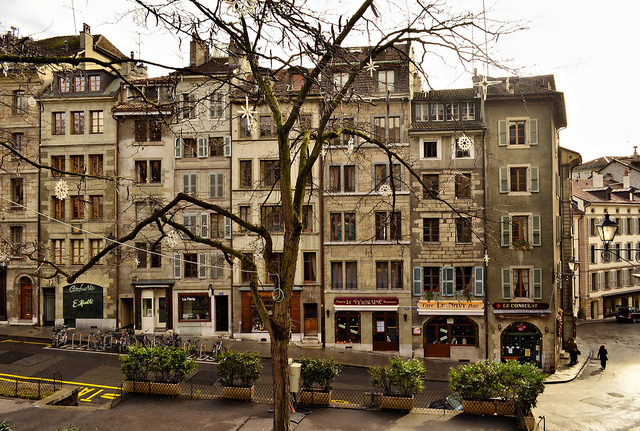 | ♕ |  Geneva Old Town - Switzerland  | © Piero Damiani