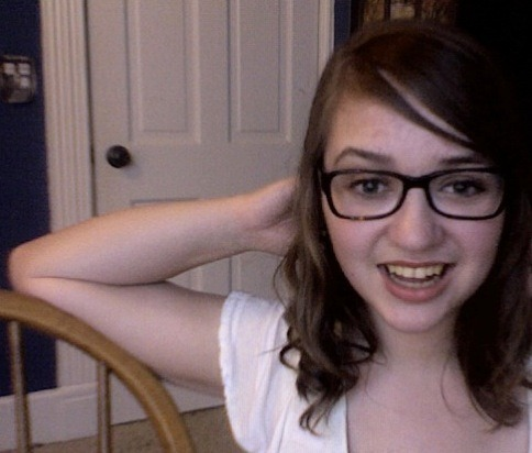 I have new glasses. I am trying to be excited about them. X)
