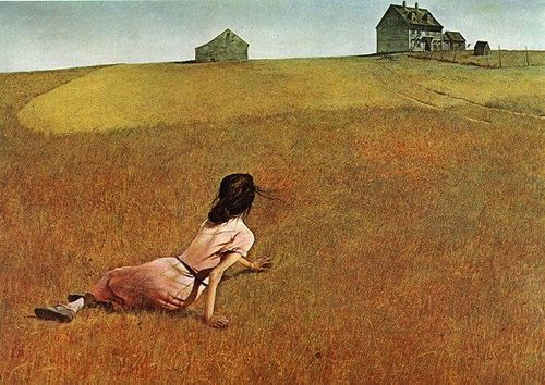 Andrew Wyeth, Chritina's World, 1948.