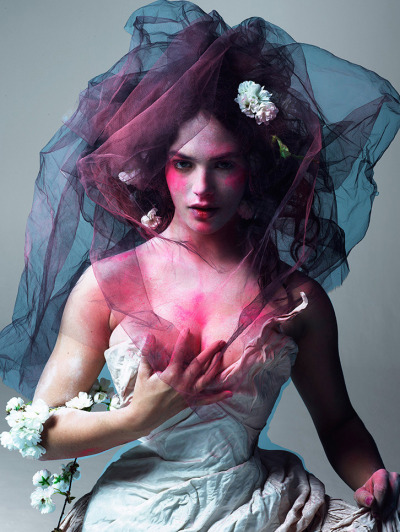 xolondon:  Lady Sybil for LOVE Magazine, 2012
