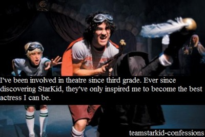 teamstarkid-confessions:  Confessed by: Anonymous