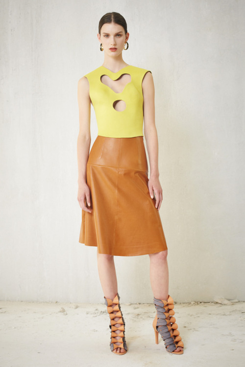 Nothing like a good leather. Balenciaga. New York. Resort 2013.