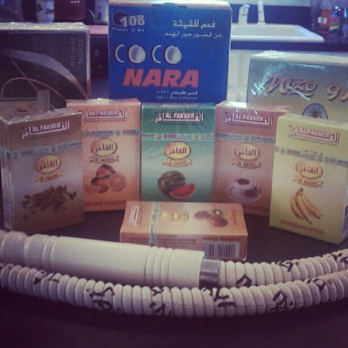 New shisha and freeze hose. #hookah (Taken with Instagram)