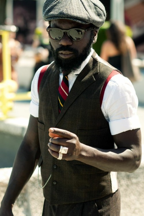 Sam Lambert at Pitti Uomo S/S 2011
