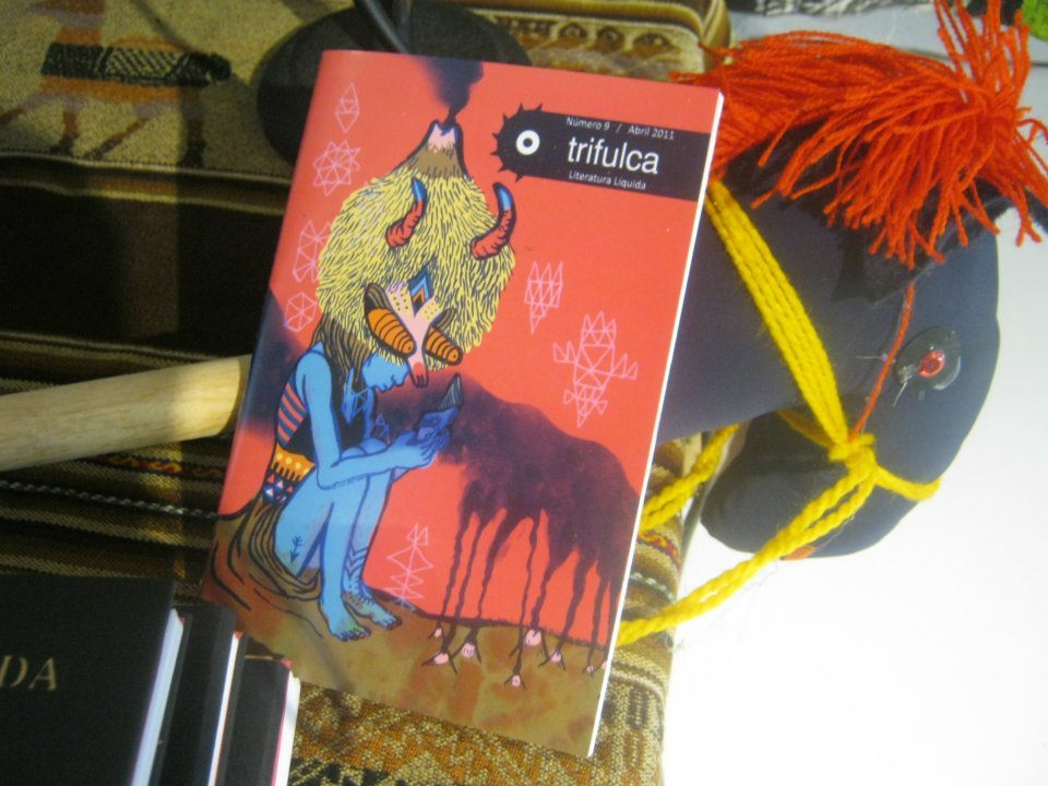 The last issue of Trifulca is finally out! This is a poetry magazine some friends made, for which I did the design and illustrations for their last 4 issues.