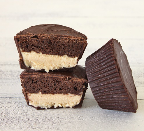 ice cream cupcake peanut butter cups