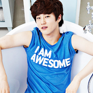 Did no one teach gramps how to take a bath?  You don't wear clothes Suho. NO. CLOTHES.