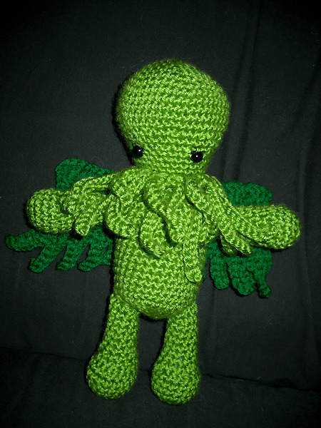 monrepos:  My first commission, Cthulhu: Dark Lord of Cuddles.