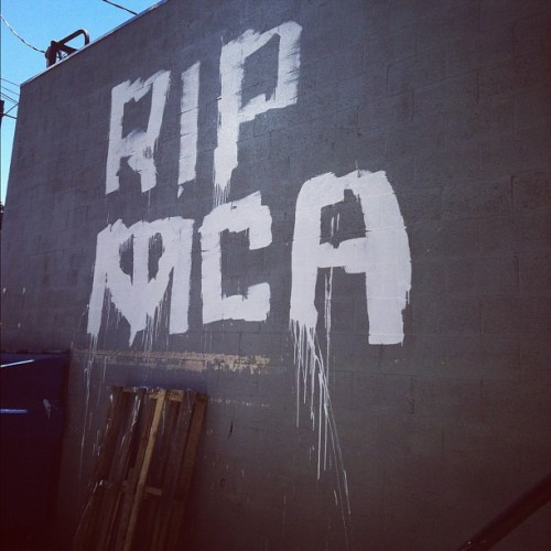 #beastieboys #mca #adamyauch #hancholo #atwater #atwatervillage (Taken with Instagram)