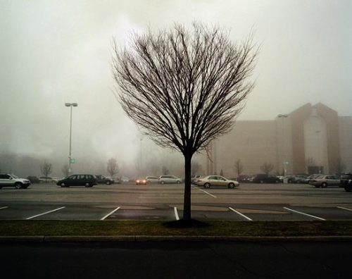 nighswander:  Shopping plaza, New York, 2008