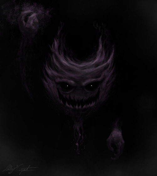 Haunter with Shadowballaww yiss