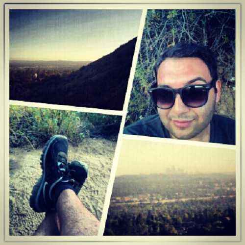 #sweatlikeapigtolooklikeafox #hiking #hike #trail #baileycanyon #billy #sierramadre #backyard #nature #toomanygnats #view #amazing #livinglife #socal #beautiful #bff #summer #hot #gonnamakeyousweat #me #personal #homo #goodtimes #toomanyhashtags @msshell32  (Taken with Instagram at The Bench at Bailey Canyon)