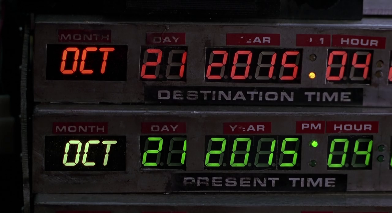 "liveshades:  Back to the Future ""fans"" are celebrating the wrong date.  People are dumb. They really think the flying cars were in 2012? Idiots!"