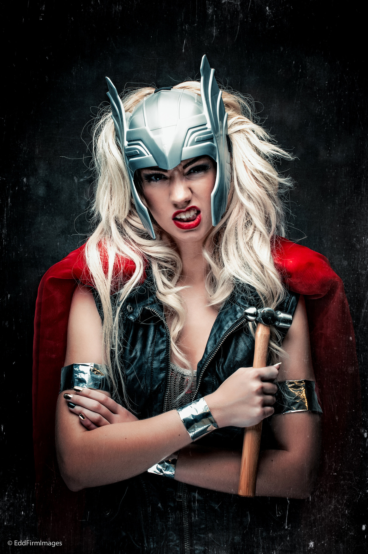 Better copy of the Thor photo. Me by Edd Firm