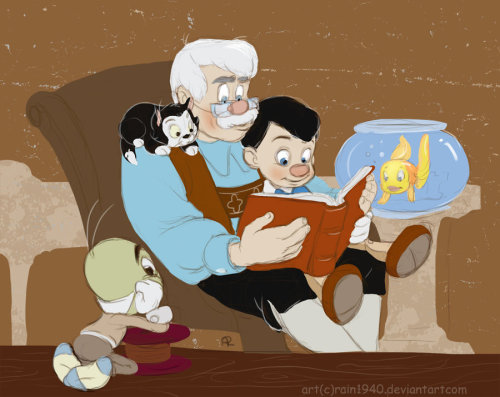 becausesometimesdreamsdocometrue:  Story time by rain1940.