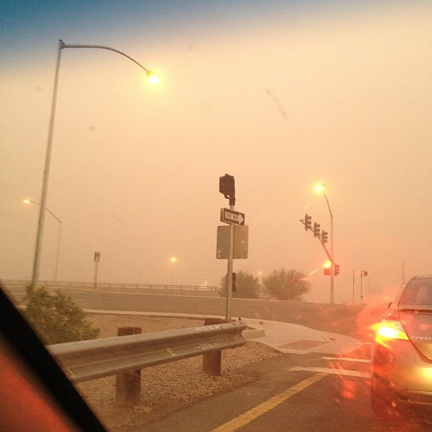 Haboob #nofilter (Taken with Instagram)