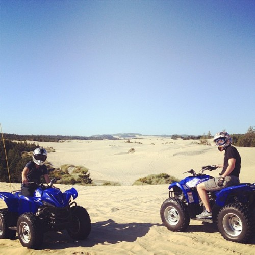 Stop 4: The Dunes of Oregon @jolsen26 #eustis #OTroadtrip (Taken with Instagram)
