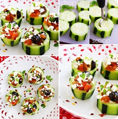 eatcleanmakechanges:  Greek Salad but better..