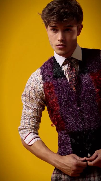 behind the scenes Etro Fall/Winter 2012-13 catalog