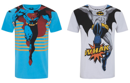Camisetas de Batman y Superman