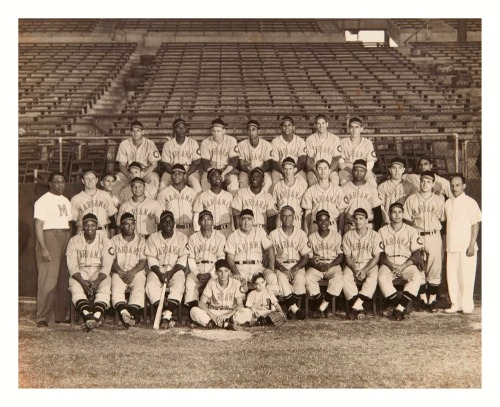 1947 Marianao Tigers Team This Cuban Winter League Baseball Team featured Minnie Minoso, Ray Dandridge and Mgr. Adolfo Luque.