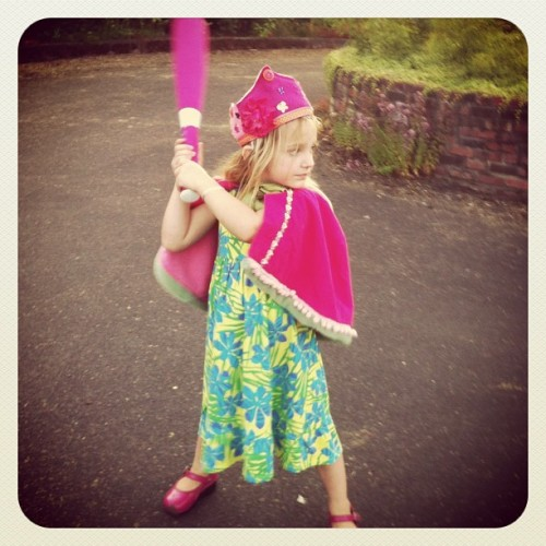 Princess Bats-a-lot (Taken with Instagram at Sauvie Island)