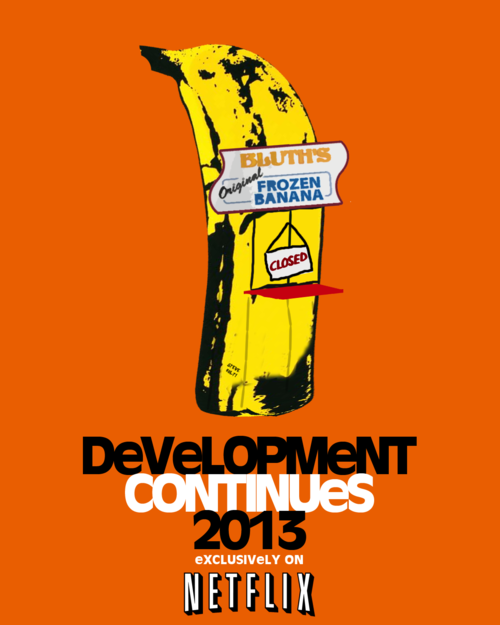 thebluthcompany:  Netflix posts Arrested Development Teaser  :D!!!