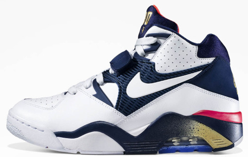 Nike is celebrating the 20th Anniversary of the Dream Team by releasing a USA Basketball Pack that includes several Olympic-inspired classics, such as Charles Barkley's Nike Air Force 180.