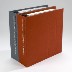 HH Binders, with blind embossed covers