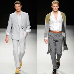 stylert:  Vivienne Westwood presented the Men 2013 Spring-Summer 2013 collection in Milan.