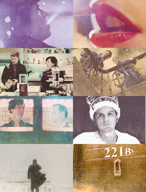 Favourite caps of Sherlock.→  requested by Anon.