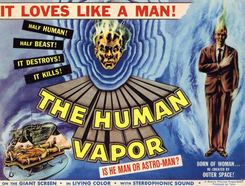 Loves Like a Man The Human Vapor (1960) Golden Age Comic Book Stories