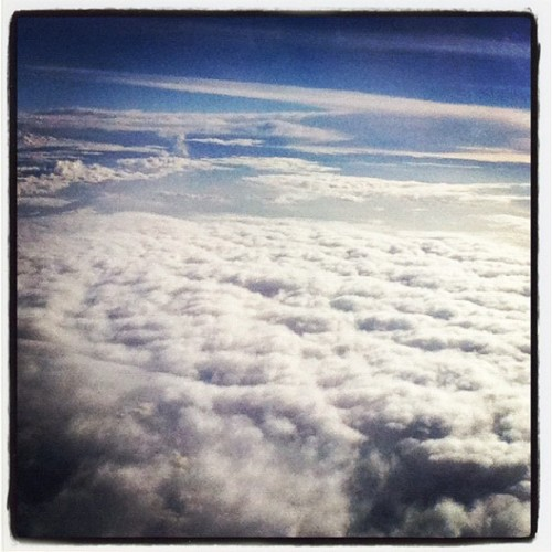 From the plane #clouds #sky #cielo #nubes  (Taken with Instagram)