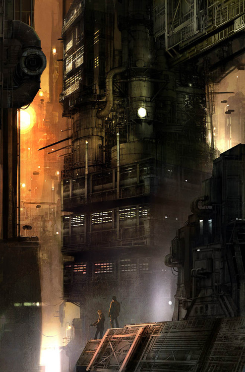 Blade Runner by Benjamin Carré
