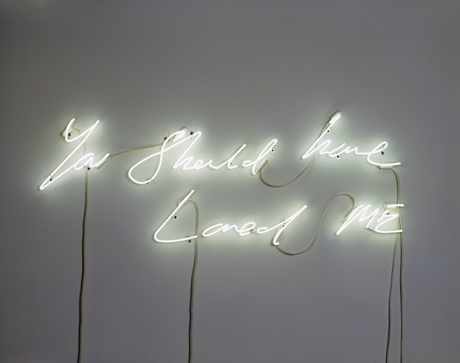 ryandonato:  You Should Have Loved Me, Tracey Emin
