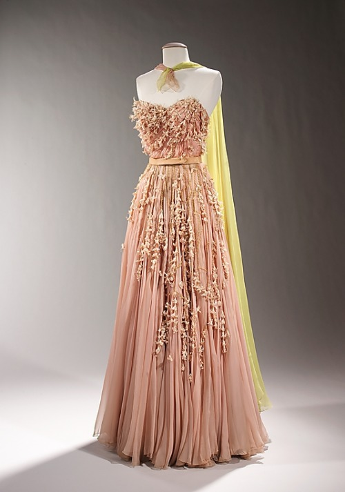 Dress Sophie Gimbel, 1955 The Metropolitan Museum of Art