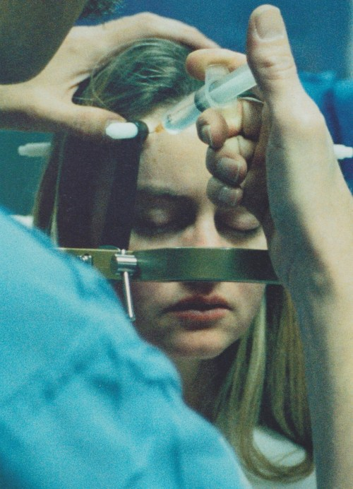 thedoppelganger:  Me Just Before Brain Surgery, Corinne Day, London Hospital, 1996