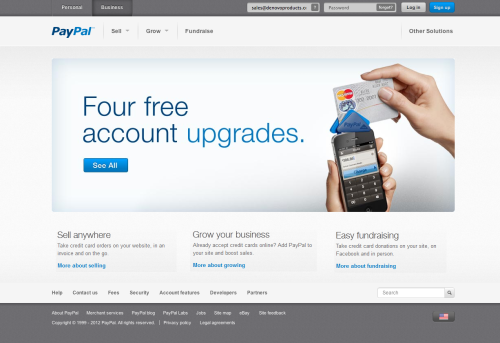What do you think about the new #paypal #webdesign?
