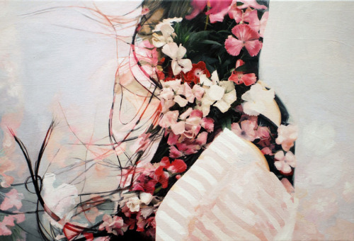 Double Exposure Paintings by Pakayla Biehn
