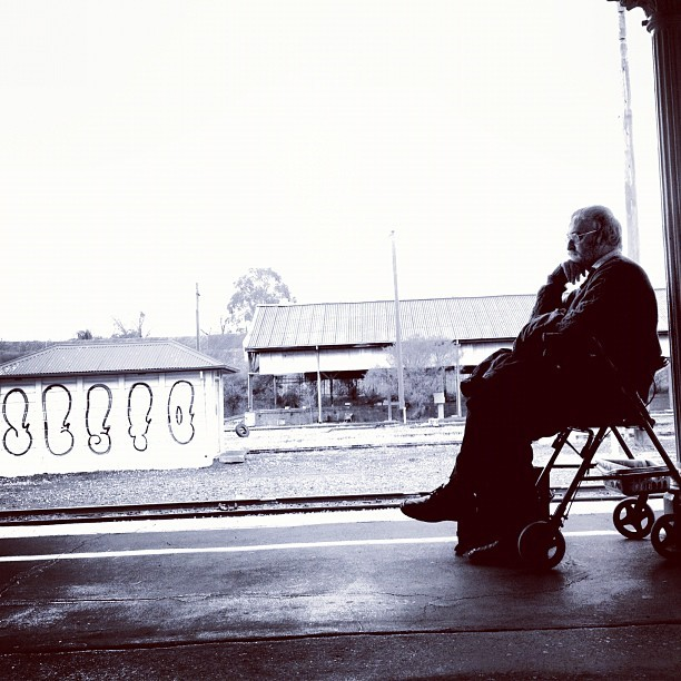 Waiting (Taken with Instagram)